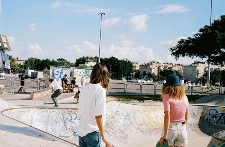 Jerusalem Skater Girls