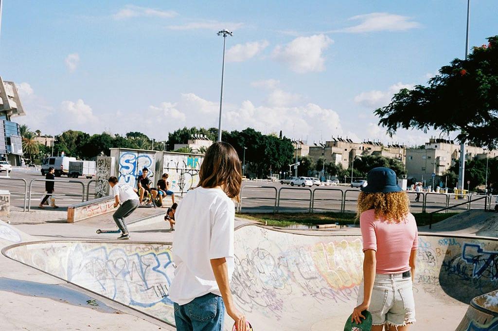 Jerusalem Skater Girls